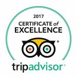 2017 Certificate of Excellence Tripvisor